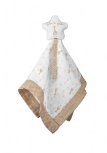 Sophie la girafe - Comforter with pacifier holder